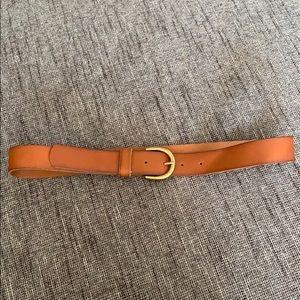 Tan Leather Belt - Target Size S
